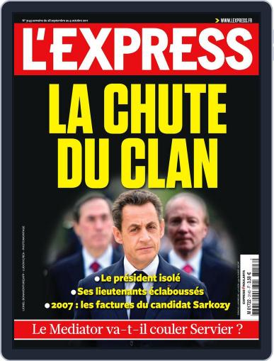 L'express September 28th, 2011 Digital Back Issue Cover
