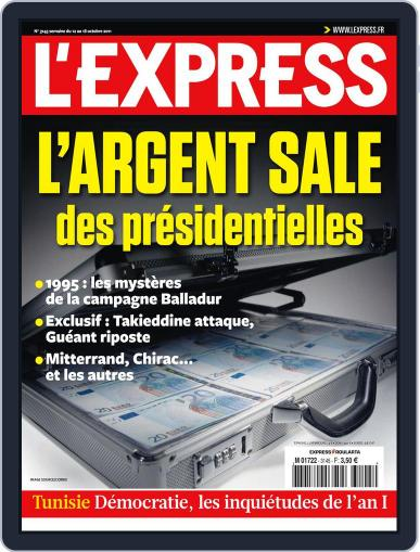 L'express (Digital) October 11th, 2011 Issue Cover