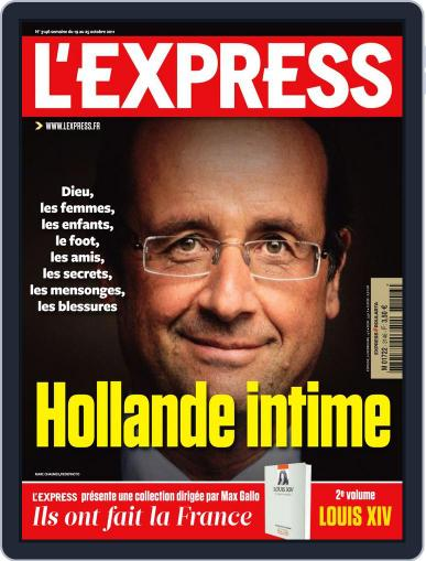 L'express (Digital) October 18th, 2011 Issue Cover