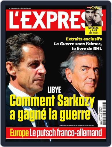 L'express (Digital) November 8th, 2011 Issue Cover