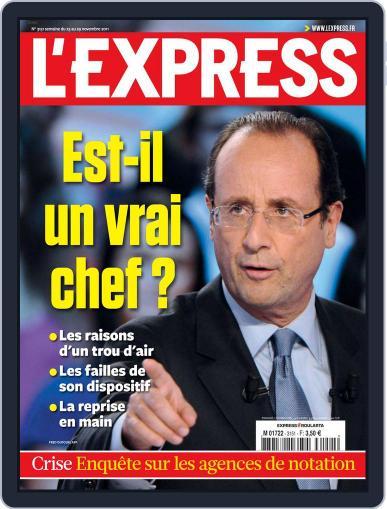 L'express November 22nd, 2011 Digital Back Issue Cover