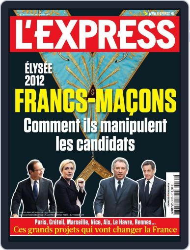 L'express January 3rd, 2012 Digital Back Issue Cover