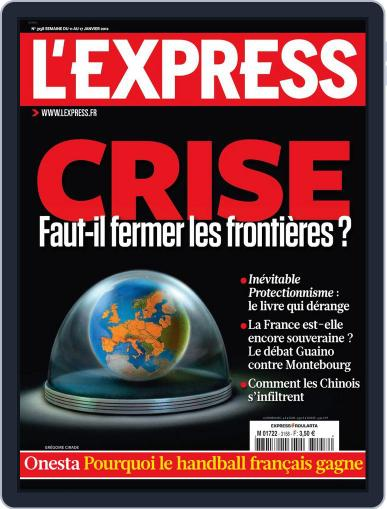 L'express (Digital) January 10th, 2012 Issue Cover