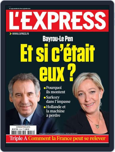 L'express January 17th, 2012 Digital Back Issue Cover