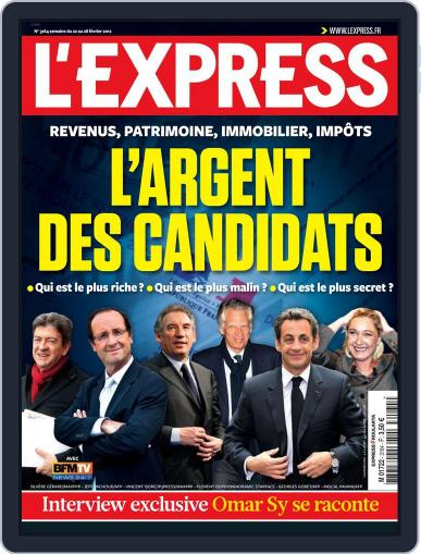 L'express (Digital) February 21st, 2012 Issue Cover