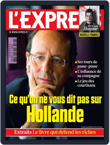 L'express (Digital) March 13th, 2012 Issue Cover