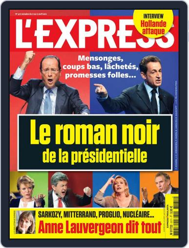 L'express April 10th, 2012 Digital Back Issue Cover