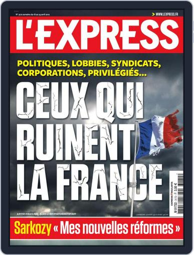 L'express (Digital) April 17th, 2012 Issue Cover