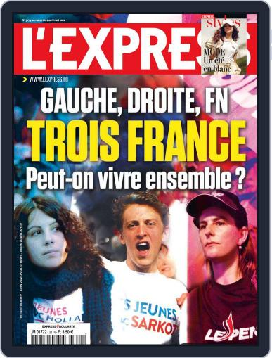 L'express May 1st, 2012 Digital Back Issue Cover