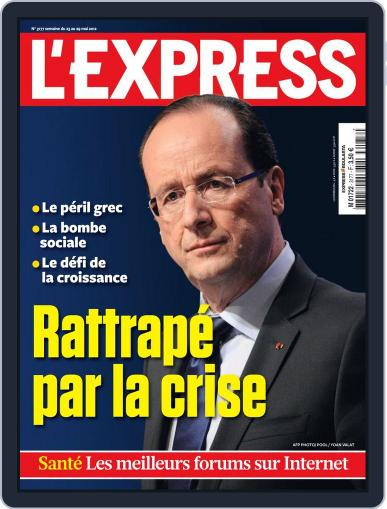 L'express May 22nd, 2012 Digital Back Issue Cover