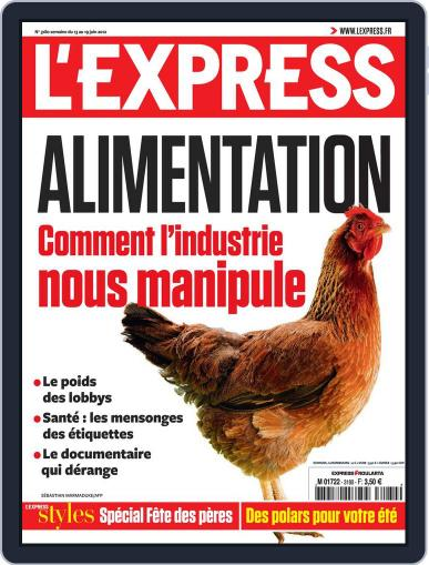 L'express June 12th, 2012 Digital Back Issue Cover