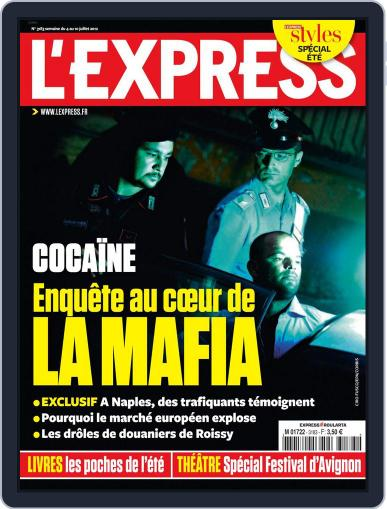 L'express July 3rd, 2012 Digital Back Issue Cover