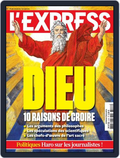 L'express (Digital) July 31st, 2012 Issue Cover