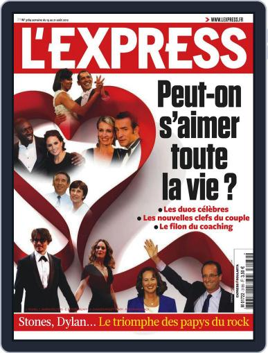 L'express (Digital) August 14th, 2012 Issue Cover