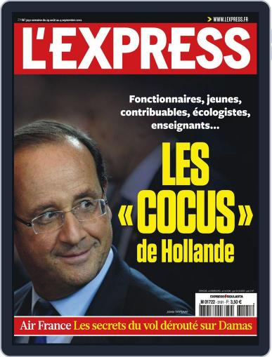 L'express (Digital) August 28th, 2012 Issue Cover
