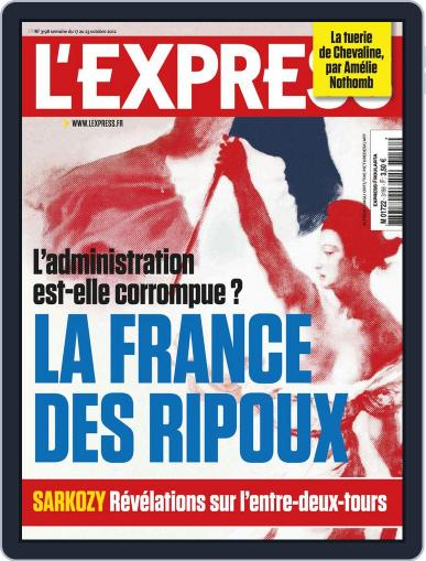 L'express (Digital) October 16th, 2012 Issue Cover