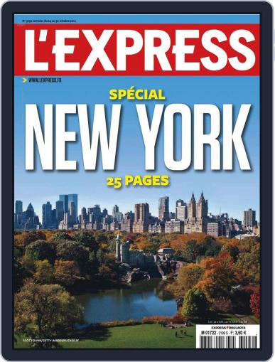 L'express (Digital) October 23rd, 2012 Issue Cover