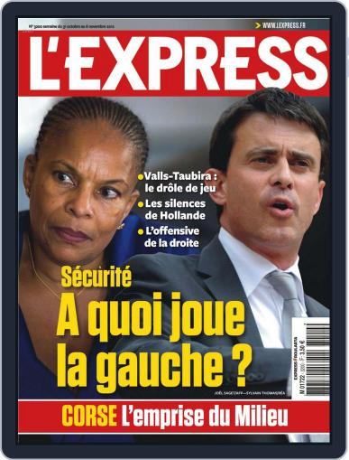 L'express October 30th, 2012 Digital Back Issue Cover