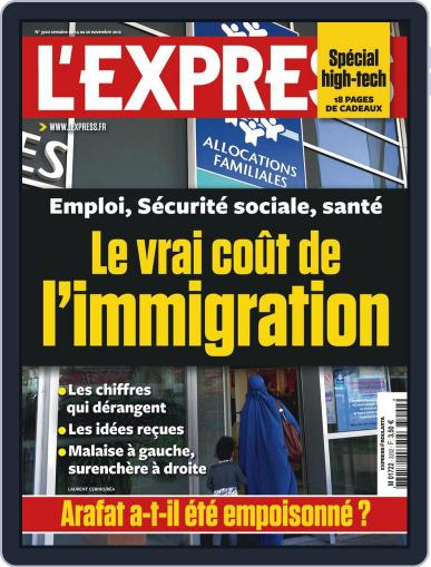 L'express (Digital) November 13th, 2012 Issue Cover