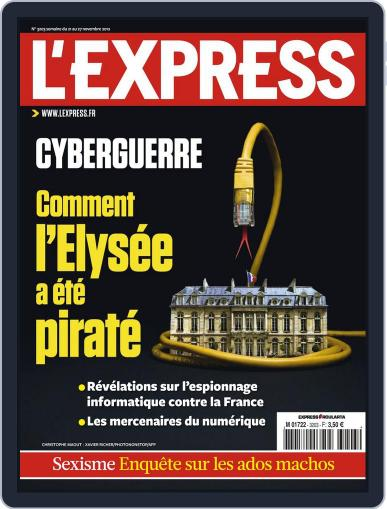 L'express (Digital) November 20th, 2012 Issue Cover