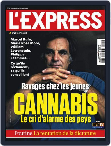 L'express (Digital) December 4th, 2012 Issue Cover