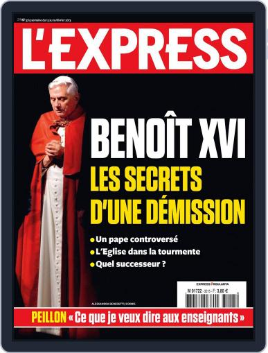 L'express February 12th, 2013 Digital Back Issue Cover