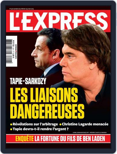 L'express (Digital) February 26th, 2013 Issue Cover
