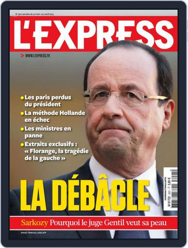 L'express (Digital) March 26th, 2013 Issue Cover