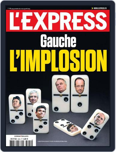 L'express (Digital) April 16th, 2013 Issue Cover