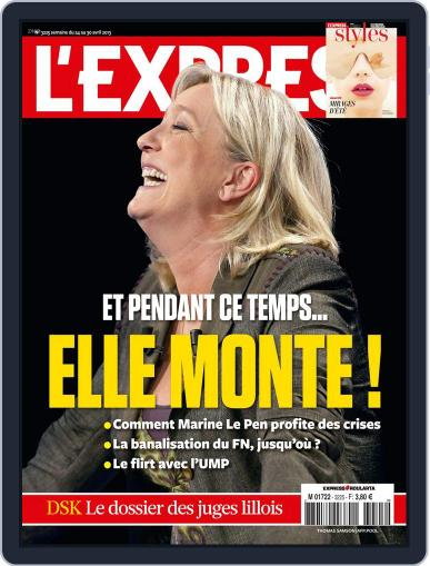 L'express (Digital) April 23rd, 2013 Issue Cover