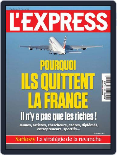 L'express April 29th, 2013 Digital Back Issue Cover