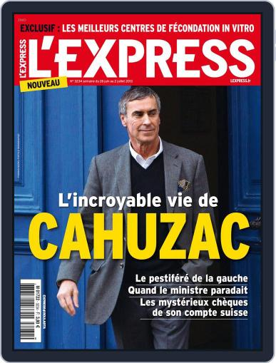 L'express (Digital) June 25th, 2013 Issue Cover