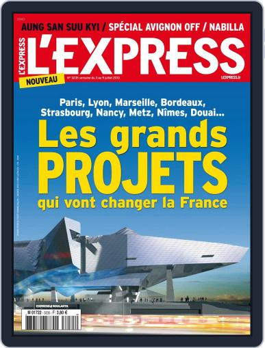 L'express (Digital) July 2nd, 2013 Issue Cover