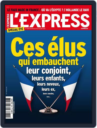 L'express July 9th, 2013 Digital Back Issue Cover