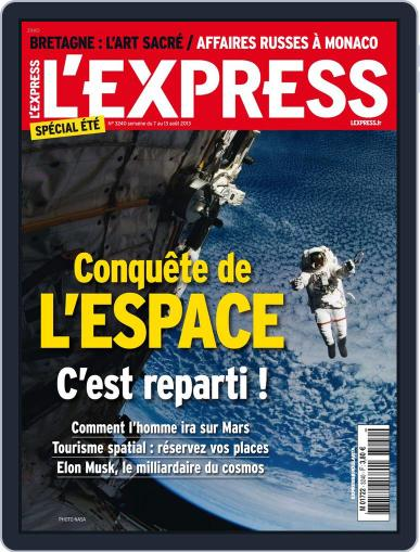 L'express (Digital) August 6th, 2013 Issue Cover
