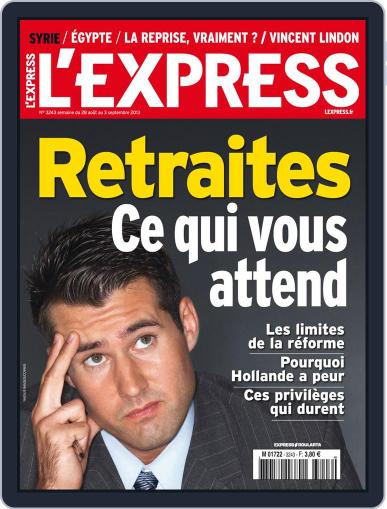 L'express (Digital) August 28th, 2013 Issue Cover