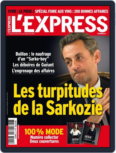 L'express (Digital) September 3rd, 2013 Issue Cover