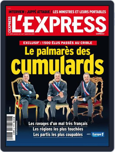 L'express (Digital) September 10th, 2013 Issue Cover