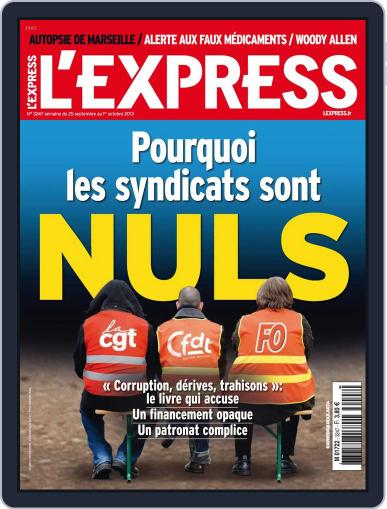 L'express September 24th, 2013 Digital Back Issue Cover