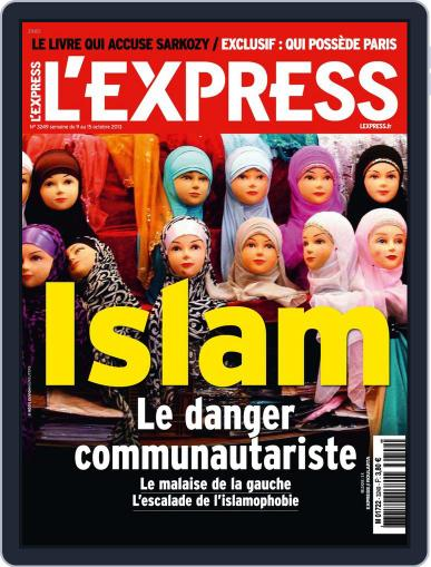 L'express (Digital) October 8th, 2013 Issue Cover