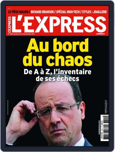 L'express (Digital) November 12th, 2013 Issue Cover