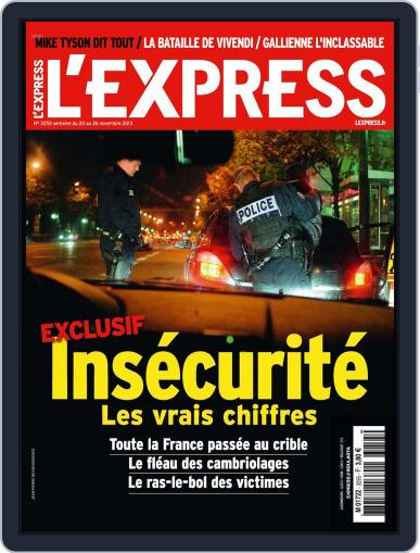 L'express (Digital) November 19th, 2013 Issue Cover