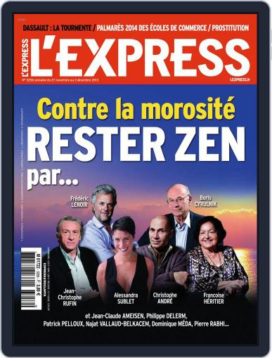 L'express (Digital) November 26th, 2013 Issue Cover