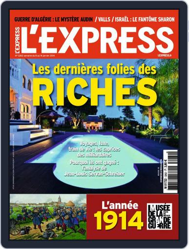 L'express January 7th, 2014 Digital Back Issue Cover