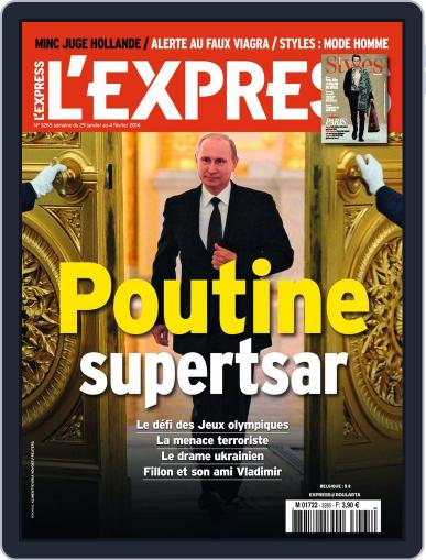 L'express (Digital) January 28th, 2014 Issue Cover