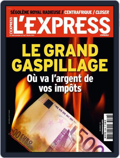 L'express (Digital) February 4th, 2014 Issue Cover