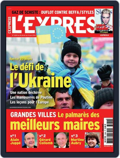 L'express (Digital) February 25th, 2014 Issue Cover