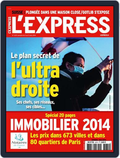 L'express (Digital) March 4th, 2014 Issue Cover