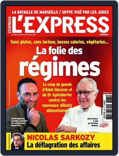 L'express (Digital) March 11th, 2014 Issue Cover