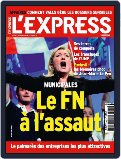L'express March 18th, 2014 Digital Back Issue Cover